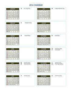 Three Month Calendar Template L  Crates