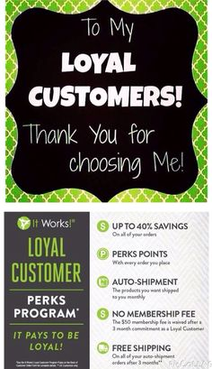 Thank you to all my Loyal Customers for believing in me and these amazing products. I would love to welcome 1 new loyal customer today to the It Works family. If you have been sitting the fence on trying our products, TODAY is the day to Contact me & try a product that you've been thinking about for a while! My contact information is www.Womanofallnations. itworks.com & order yours today.