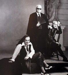 John Galliano, Karl Lagerfeld & Gianni Versace