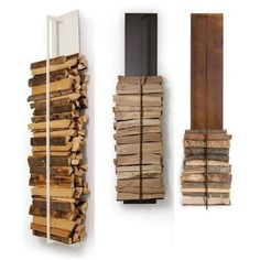 Wood storage left of chimney Firewood Rack, Firewood Storage, Wood Store, Wood Burner, Home And Living, Home Improvement, Sweet Home, Woodworking, Home Decor