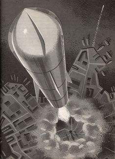 Peter P. Plasencia for Franz Born's 1964 book Jules Verne: The Man Who Invented the Future