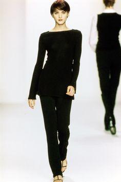 Calvin Klein Collection Spring 1996 Ready-to-Wear Fashion Show - Michele Hicks