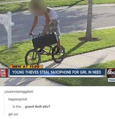 This band thief: