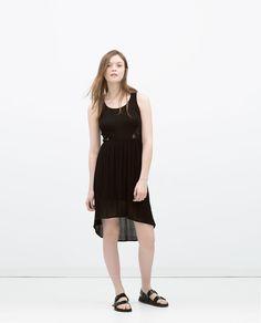 CROCHET BACK DRESS-Midi-Dresses-WOMAN | ZARA United Kingdom