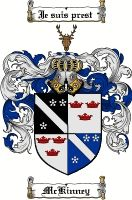 Mckinney Coat of Arms / Mckinney Family Crest