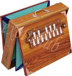 SHRUTI BOX-BIG SIZE~TEAK WOOD Indian Musical Instruments, Teak Wood, Big, Heart, Stuff To Buy, Collection