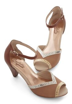Stagefright Heel in Magnificent Metallic #modcloth #ad *vintage style