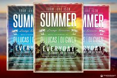Check out Summer Lounge Flyer Template V2 by ThatsDesignStore on Creative Market