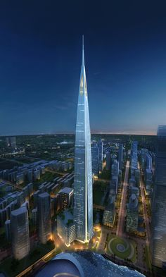 The 10 Tallest Skyscrapers Of The Future | 4. Suzhou Zhongnan Center, Suzhou, China [Futuristic Architecture: http://futuristicnews.com/category/future-architecture/]