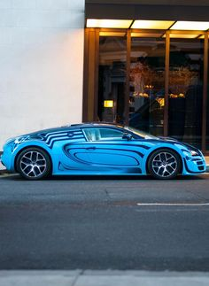 The Bugatti was unveiled in Paris in 1991 and went into production until Bugatti went out of business in 1995 (Bugatti has since been resurrected by Volkswagen). The car was available as a two-door sports car and only 31 cars were produced. Bugatti Veyron, Bugatti Cars, Lamborghini, Maserati, Ferrari 458, Super Sport Cars, Super Car, Fancy Cars, Ex Machina