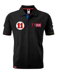 James Hunt mens Polo Shirt No 11