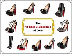 These are the 11 best Christian Louboutin shoes of What about you, do you like Louboutins? Christian Louboutin Shoes, High Heels, Articles, Pumps, Stuff To Buy, Men, Fashion, Moda, Fashion Styles