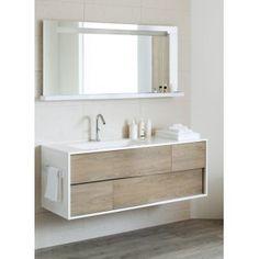 Meuble lavabo contemporain «Eve»   Salle de bain   Pinterest ...
