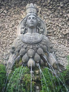 Diane, mère Nature - Villa d'Este à Tivoli (Italie, près de Rome)