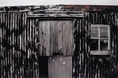 Sean Scully(b.1945) Black Scully Shack,Isles Of Harris And Lewis,Scotland. 1990 Photographs.