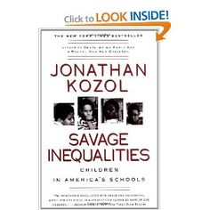 An insightful book about the inequalities in education in our nation's urban and suburban schools.
