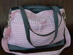Large diaper bag with padded insert for your DSLR