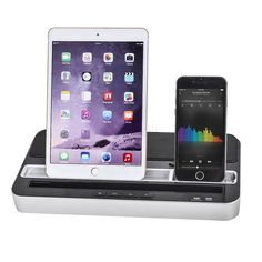 Stereo Speaker/Charger with Docking Station for iPad/iPhone/iPod/Samsung