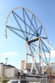 The High Roller Ferris wheel on the Las Vegas Strip