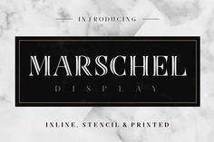Marschel Display Free Font