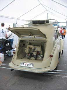 Prototype Hanomag de 1937 d'un véhicule militaire sur la base de la Volkswagen KdF-Wagen.