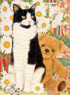 Tashy and Daisies Art of Anne Mortimer