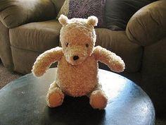 Vintage GUND Classic Winnie the Pooh Bear by StylishLight on Etsy