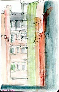 paris urban sketchers