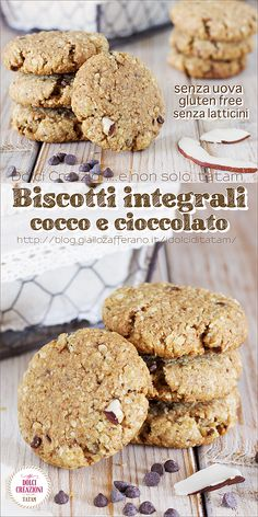 Italian Cookies, Italian Desserts, Biscotti Recipe, Sweet Pastries, Homemade Dog Treats, Sweet And Salty, Dairy Free Recipes, Healthy Desserts, Food And Drink