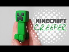 Minecraft Birthday Cake, Minecraft Cake, Minecraft Crafts, Fimo Tutorial, Cake Tutorial, Pastel Minecraft, Minecraft Tutorial, Gum Paste Flowers, Polymer Clay Projects