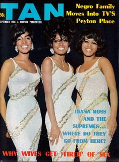 Diana Ross & The Supremes Magazine Cover