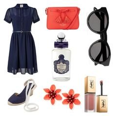 A fashion look from September 2017 featuring collared dresses, beach sandals and red hand bags. Browse and shop related looks. Beach Sandals, Collar Dress, John Lewis, Givenchy, Yves Saint Laurent, Fashion Looks, Polyvore, Shopping, Dresses