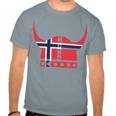 Norwegian Viking Helmet Shirt