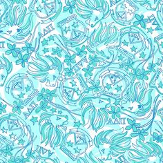 ADPi print by lilly pulitzer. I want the scarf!
