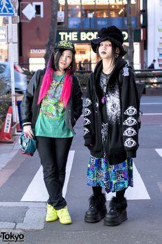 Gothic Harajuku Designer & Japanese Artist w/ Dark Fashion & Handmade Accessories