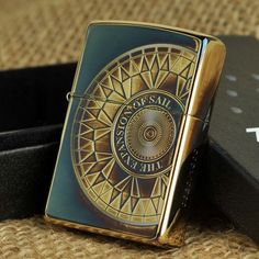 Japanese Compass Look for Aegean Sea Zippo Lighter Limited Edition