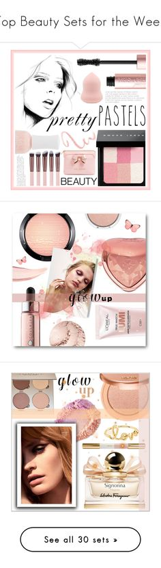 """Top Beauty Sets for the Week"" by polyvore ❤ liked on Polyvore featuring beauty, Charlotte Russe, Bobbi Brown Cosmetics, Too Faced Cosmetics, Ted Baker, MAC Cosmetics, Cover FX, L'Oréal Paris, H&M and tarte"