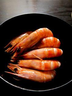 Photo: Japanese Drunken Shrimp, Sake-Steamed Prawn|酔っぱらい海老