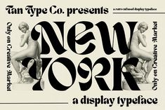 TAN - NEW YORK by TanType on @creativemarket