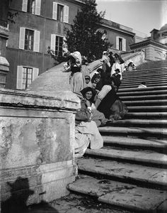 Plaza de España Roma.-1900-1904.Baldomer Gili Roig. Museu d'Art Jaume Morera.