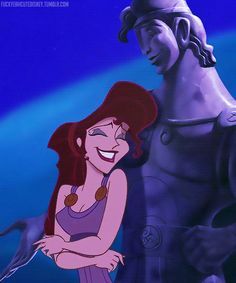 Meg (Disney's Hercules), check the grin, you're in love
