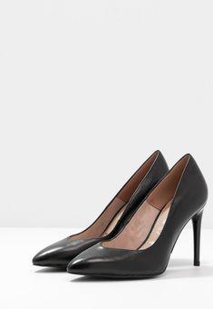 Tamaris Escarpins à talons hauts - black - ZALANDO.CH Black Noir, Kitten Heels, Shoes, Style, Fashion, Outfits, Swag, Moda, Zapatos
