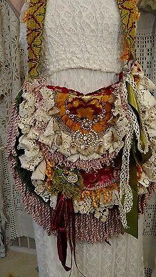 Bolsa De Ombro Tapete Artesanal Franjas Vintage De Renda Hippie Gypsy Boho Bolsa tmyers | Roupas, calçados e acessórios, Bolsas e sacolas femininas, Bolsas | eBay!