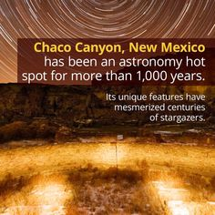 Chaco Canyon: Views That Have Dazzled for Centuries Discovery Channel Shows, Purple Sunset, Dark Skies, Stargazing, New Mexico, Astronomy, Trip Planning, Places To Go, Road Trip