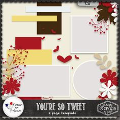 You're So Tweet - Template - by Thrifty Scraps