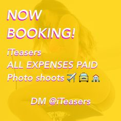 Tag ALL The Models You Know! Booking Now for @iTeasers Photoshoots. Photographer  @Mike.Fx - Details : All Expenses Paid. Pictures / Videos will be Posted on @iTeasers and others. Don't have to have a huge Following to Shoot with us. DM me if You're interested. - Kik : iTeasers by iteasers
