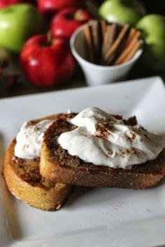 Cinnamon Apple Spice French Toast