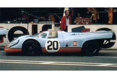 24 heures du Mans 1970 - Porsche 917K #20- Pilotes : Joseph Siffert / Brian Redman - Abandon