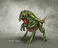Alien monster 027 by Alexander Thümler (miNze).
