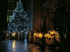 Durham Cathedral at Christmas